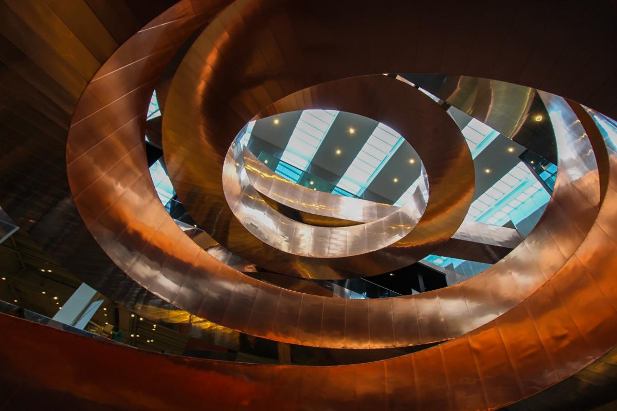 picture of spiral at Experimentarium