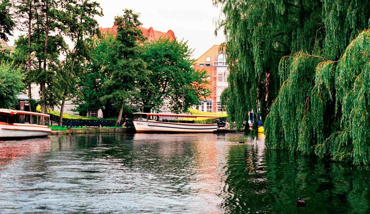 a picture of Odense River